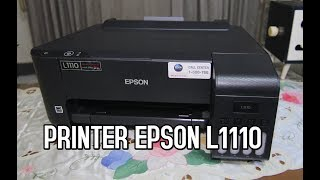 PRINTER EPSON L1110 Single Fungsi | REVIEW & UNBOXING