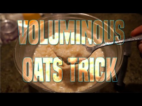 How to Get the MOST Volume From Your Oats