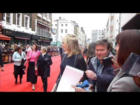 Selina Scott Olivier Awards 2013