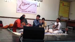 Bhagyada lakshmi baramma - Flute recital by Chalakkudy RaghuNathan