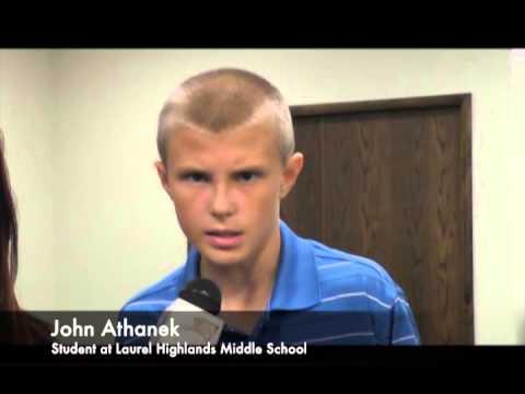 John Athanek - Laurel Highlands Middle School