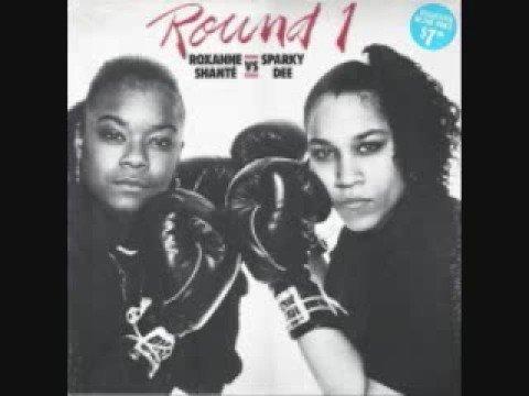 Round 1 - Roxanne Shante' vs. Sparky Dee
