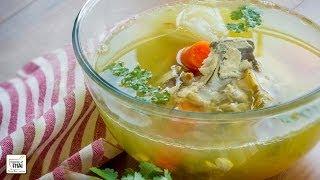 """Como Hacer Caldo De Pollo Estilo Thai """"nam Sup Kai"""" (น้ำซุปไก่)"""