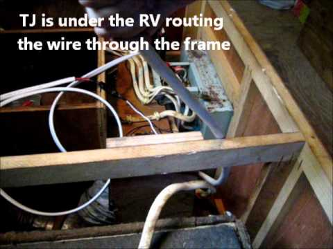 Installing Solar AC And DC Power In My RV Converter Box