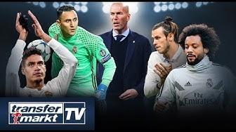 Real Madrid-Kader auf Prüfstand – Abgang von Bale, Varane oder Marcelo? | TRANSFERMARKT
