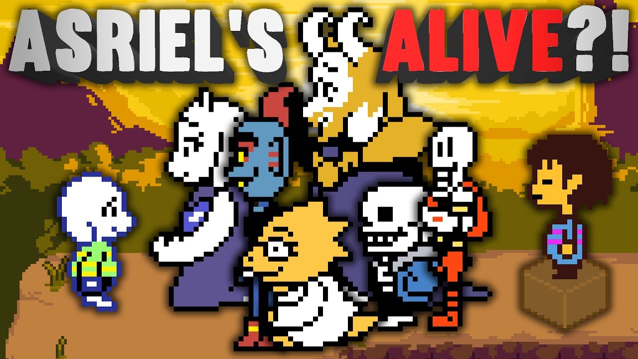 What Really Happened To Asriel At The End of UNDERTALE? Undertale ...