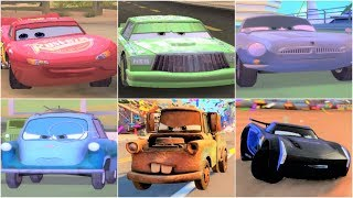 Video CARS 1 CARS 2 CARS 3 Gameplay Compilation with Cars Characters download MP3, 3GP, MP4, WEBM, AVI, FLV Agustus 2018