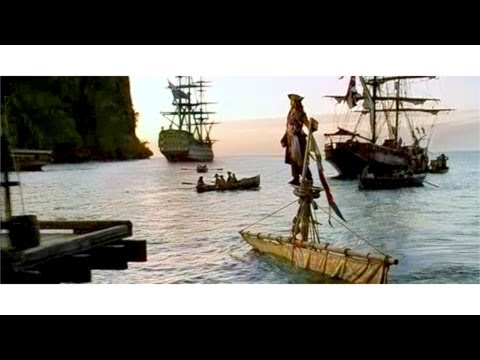 Movie Sets from PIRATES OF THE CARIBBEAN - Wallilabou Bay, St Vincent, CARIBBEAN