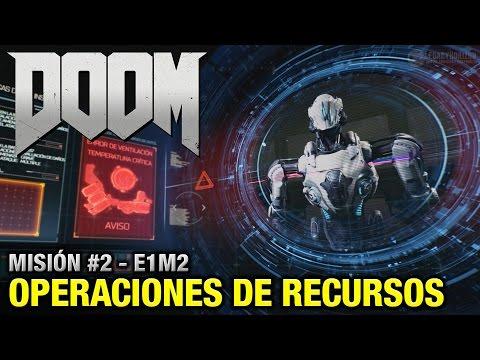 DOOM (2016) - Misión #2 - Operaciones de Recursos (Coleccionables + Secretos - Español 1080p 60fps)