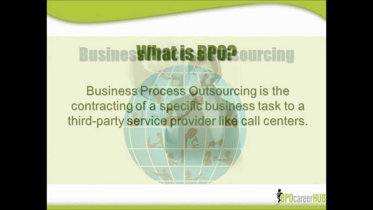 What is BPO  YouTube