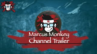 Marcus Monkey Channel Trailer 2017  | BJJ, MUAY THAI, KARATE, TAEKWONDO, MMA