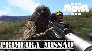 ARMA 3 - PRIMEIRA MISSÃO SOLO - SNIPER