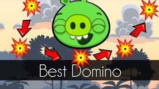 Bad Piggies - BEST DOMINO EFFECT (Field of Dreams) - 5 Hits