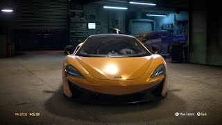 Need For Speed 2015 - McLaren 570S 2015 - Test Drive Gameplay (XboxONE HD) [1080p60FPS]