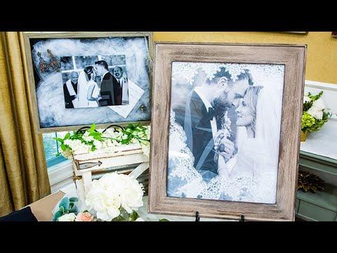 DIY Wedding Veil Display - Home & Family