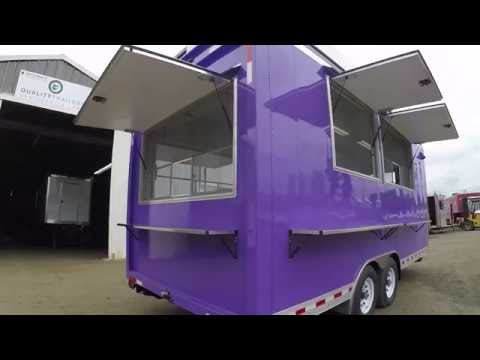 Solar Powered Concession Trailer -  QualityFoodTrailers.com