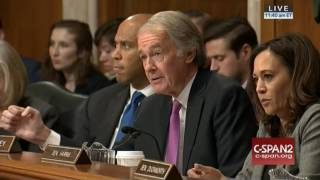 Senator Markey Asks Scott Pruitt to Recuse Himself from Lawsuits He Brought Against EPA - 1/18/17