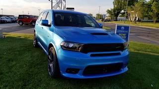 B5 Blue Dodge Durango SRT in 4K