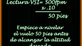 "VIDEO Nº04 ""Nivelacion del avion tras la subida"""