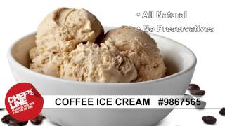 Chef's Line® Coffee Ice Cream