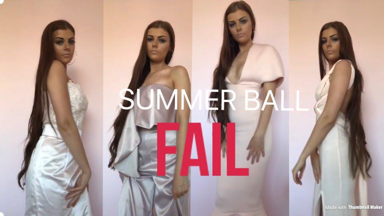 [VIDEO] - PROM/SUMMER BALL LOOKBOOK PART 2 FAIL! 5
