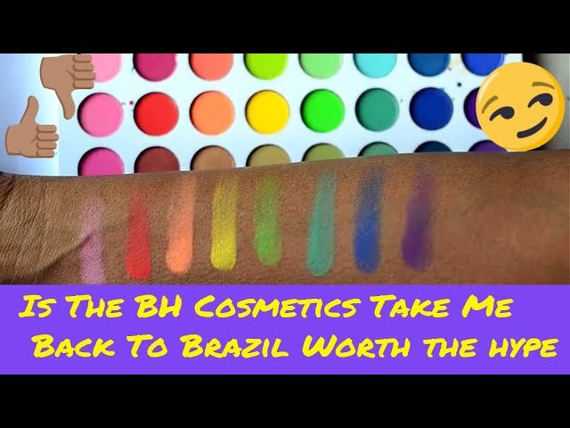 The real tea Swatch on BH Cosmetics Take Me Back to Brazil palette Review
