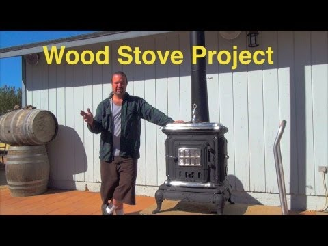 How I Restored This Wood Burning Stove PART 2 *Step by Step *DIY