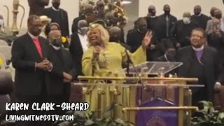 """Karen Clark-Sheard   """"We Offer Praise"""" LIVE (2021)"""