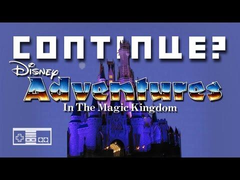 Disney Adventures in the Magic Kingdom (NES) - Continue