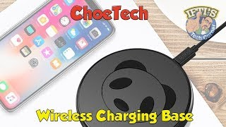 ChoeTech Wireless Qi Charging Pad - UP TO 10w OF POWER for iPhone 8/X / Samsung!