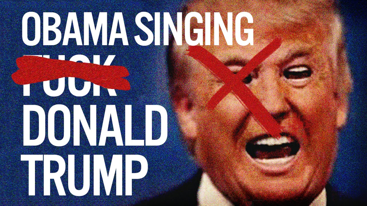 Barack Obama Singing F Donald Trump By Yg Youtube