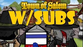 Town of Salem W/Subs I Am the Reason we Win! MAYORRR!