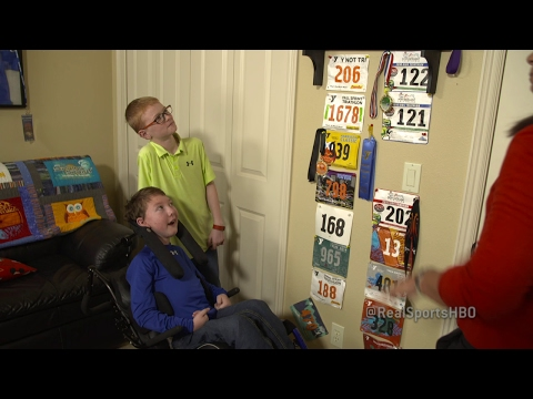 Aldrich Brothers-Triathlon Wall: Real Sports Bonus Clip (HBO)