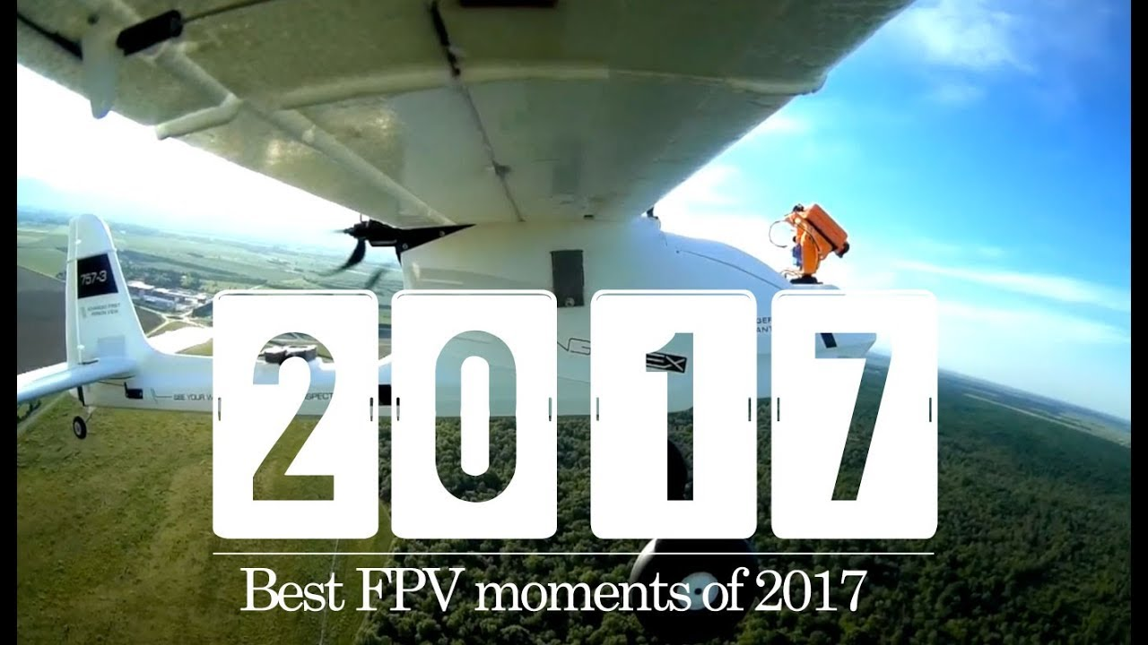 My Best FPV Plane moments of 2017 in 120 seconds