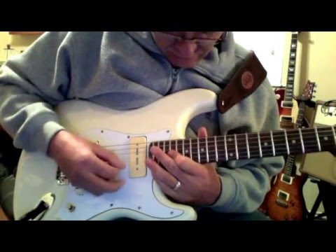 Vintage Cream P90 Stratocaster Tone Variations In All 3 Positions