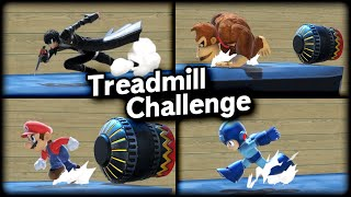 [SSBU] Who can survive the Treadmill Challenge?