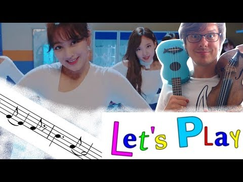 "TWICE ""Heart Shaker"" (Violin with Sheet Music) / Lets_Play_Together"