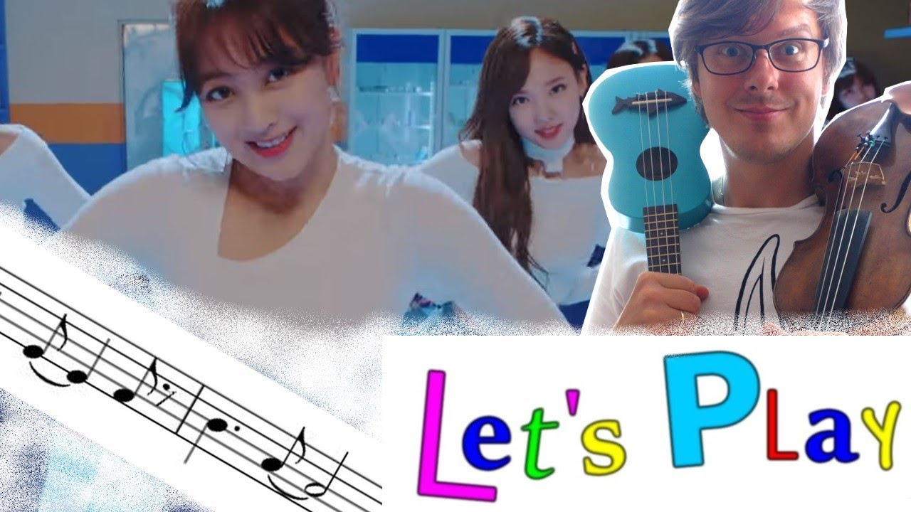 """TWICE """"Heart Shaker"""" (Violin with Sheet Music) / Lets_Play ..."""