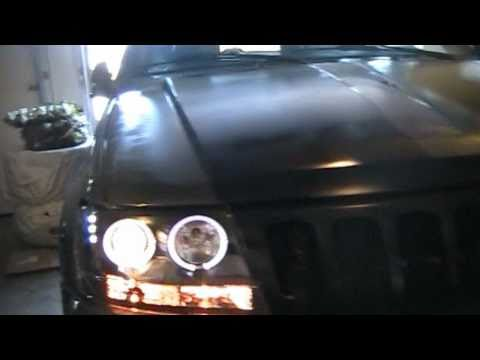 How to install projector style headlights with LED`s and Halo`s on the 1999-2004 jeep grand cherokee thumbnail