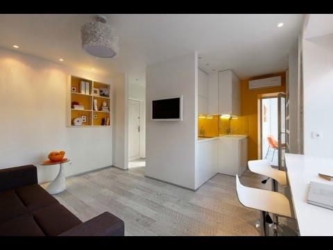 1 Zimmer Wohnung Gestalten. 1 Zimmer Wohnung Einrichten. Design Ideen.