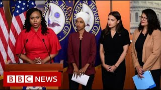 Congresswomen hit back in Trump race row - BBC News