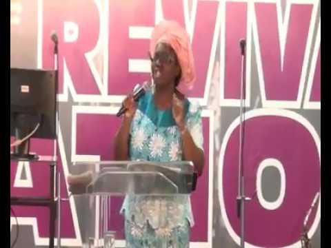 Rev. Mrs. Madugba sex education in church