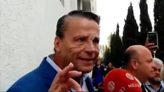 Alfredo Adame denuncia a Carlos Trejo por botellazo en la cara