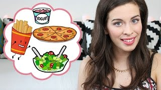 FOOD DIARY #7: Meine Ernährung | Veggie bis Fast Food | Deutsch