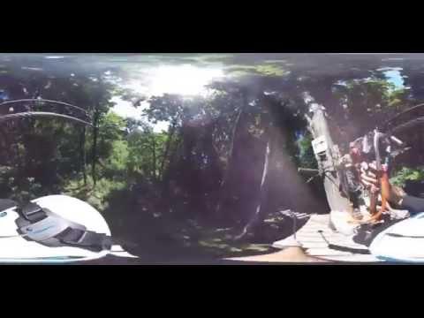 Treetop Trekking Zip Line - Stouffville - Round Content - 360 Video