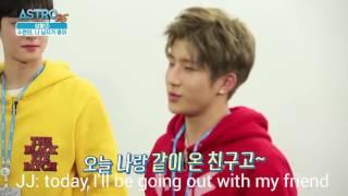 Video [ENGSUB] ASTRO25 Jinjin and Eunwoo play a gay couple download MP3, 3GP, MP4, WEBM, AVI, FLV Maret 2018