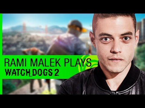 Watch Dogs 2 Live Stream: Rami Malek Plays Watch Dogs 2 with Developers