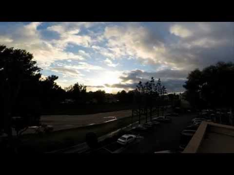 Time Lapse sunset - Irvine Chiropractor