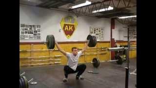 Jönköpings AK, Robert Lindqvist ryck 112,5kg miss träning 2013