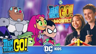 Teen Titans Answer YOUR Questions!! Teen Titans GO! To the Movies | DC Kids